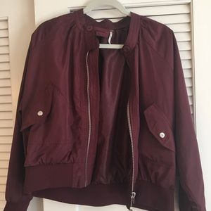 Free People Bomber Jacket M